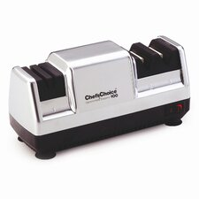 <strong>Chef's Choice</strong> Diamond Hone Deluxe M100 Knife Sharpener in Platinum