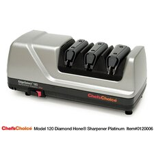 <strong>Chef's Choice</strong> Diamond Hone EdgeSelect Plus Knife Sharpener - Platinum
