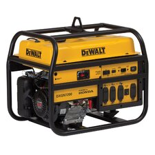 DeWalt 7200 Watts Commercial Generator with Honda GX390 Recoil/Electric Start
