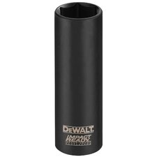 "0.38"" Drive 6-Point 0.69"" Deep Socket"