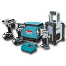 18V Compact Lithium-Ion 4-Pc. Combo Kit