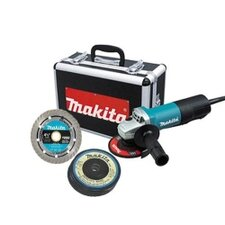 "4-1/2"" Angle Grinder With Diamond Blade And 4 Grin"