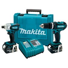 <strong>Makita</strong> 2 Piece LXT Lithium Combo Kit