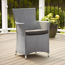 <strong>Cosco Home and Office</strong> Dining Arm Chair with Cushion (Set of 2)