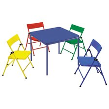Kids 5 Piece Rectangle Table and Chair Set