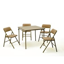 <strong>Cosco Home and Office</strong> 5 Piece Dining Set