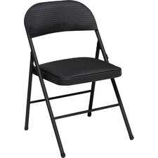 Fabric Folding Chair (Set of 4)