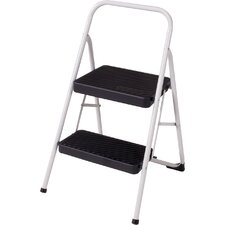 2 Step Household Folding Step Stool