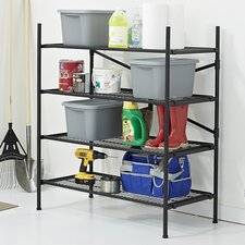 4 Shelf Folding Instant Storage Unit