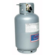 TurboTorch  T-10PS-MT 10 Liter Refillable Propane Cylinder With CGA 510 POL Connection