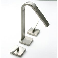 <strong>LaToscana</strong> Brunello Double Handle Deck Mount Roman Tub Faucet Trim Lever Handle
