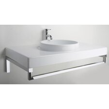 Planet 85 Above Counter/Wall Mount Bathroom Sink