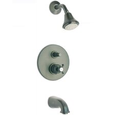 Ornellaia Single Control Pressure Balanced Tub and Shower Kit