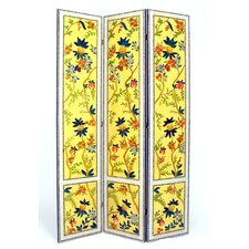 "72"" x 48"" Yanlan 3 Panel Room Divider"