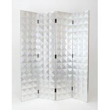 """72"""" x 64"""" Star 4 Panel Room Divider"""