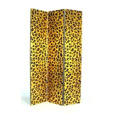 Cheetah Print Room Divider