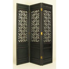 Black Parlor Cross - Hatch Room Divider