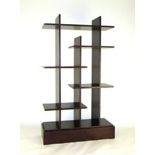 "Modern Skyline 63"" Bookcase"