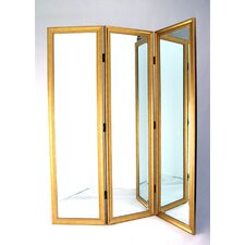 Full Size Dressing Room Divider in Gold