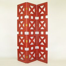 Stacked Crate Room Divider