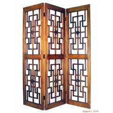 "78"" x 60"" Medieval Chamber 3 Panel Room Divider"