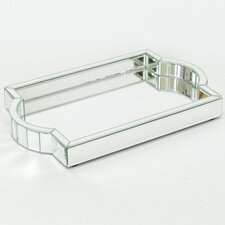 Beveled Mirror Tray