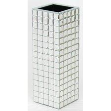 Beveled Mirror Vase