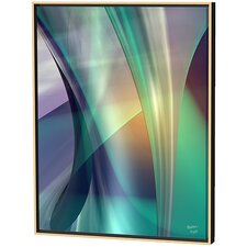 Aqua Guise Limited Edition by Scott J. Menaul Framed Graphic Art