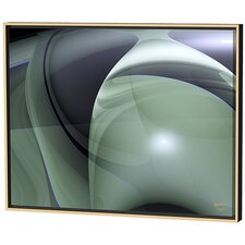 Olive Swirls Limited Edition Framed Canvas - Scott J. Menaul