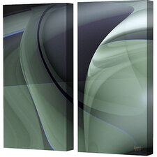 Olive Diptych Limited Edition Canvas - Scott J. Menaul (Set of 2)