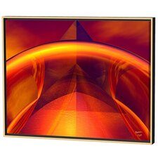 Orange Reflections Limited Edition Framed Canvas - Scott J. Menaul