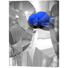 Shattered Blue Limited Edition Canvas - Scott J. Menaul