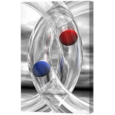 Rings and Spheres Limited Edition by Scott J. Menaul Framed Graphic Art