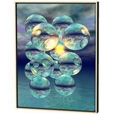 Twelve Spheres Limited Edition by Scott J. Menaul Framed Graphic Art