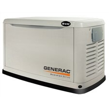 Guardian 8 Kw Liquid-Cooled Single Phase 120/240 V Natural Gas Propane Standby Generator in Steel Enclosure