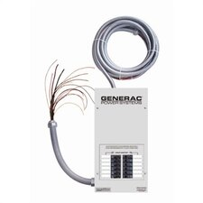 <strong>Generac</strong> 10- Circuit Transfer Switch w/ Load Center