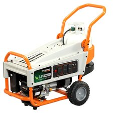 Portable 3,250 Watt Liquid Propane Generator