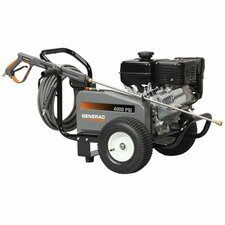 <strong>Generac</strong> 4000 PSI / 3.4 GPM Gas Powered Contractor Power Pressure Washer