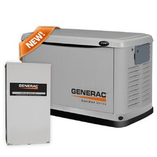 17 Kw Air-Cooled Standby Generator with 200SE Switch