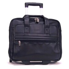 Business Cases Keep On Rollin' Double Gusset Leather Laptop Catalog Case