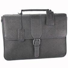 "Colombian Leather ""'Till Death Do Us Port"" Laptop Briefcase"