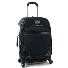 """Curve Your Appetite"" 21"" Expandable 4-Wheeled Upright / Carry-On in Black"