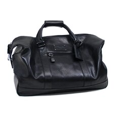 "Roma ""Its Duff Out There"" 20"" Leather Carry-On Duffel"