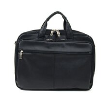 "Manhattan Leather Portfolio ""I Rest My Case"" Laptop Briefcase"