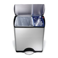 <strong>simplehuman</strong> 12-Gal. Recycler Trash Can