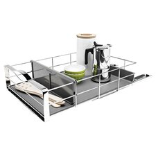 14-inch Pull-Out Cabinet Organizer, Heavy Gauge Steel