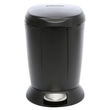 6L / 1.6 Gal, Mini Round Step Trash Can