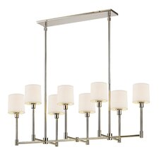 Embassy 8 Light Kitchen Island Pendant