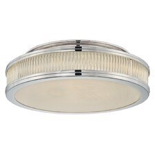 "Rivoli 16"" 3 Light Flush Mount"
