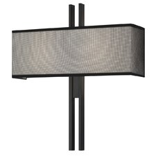 <strong>Sonneman</strong> Tandem 2 Light Wide Wall Sconce